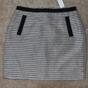 Gold and silver loft skirt